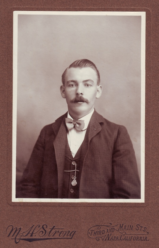 Old Photo of Person in a Bow Tie