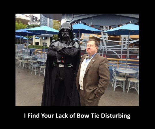 I Find Your Lack of Bow Tie Disturbing
